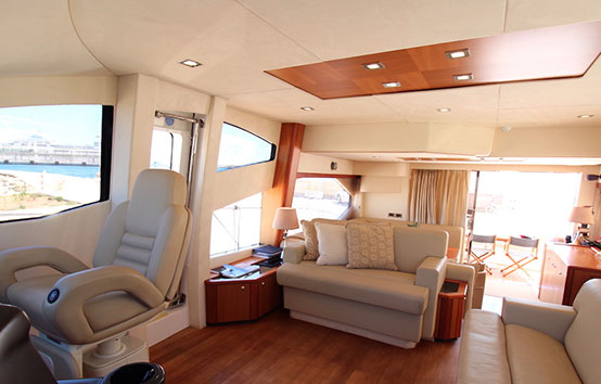 barracuda ibiza charter Sunseeker 60