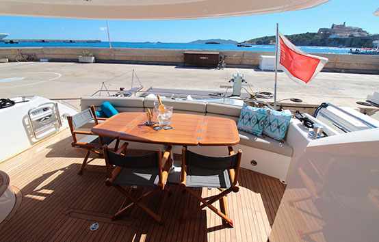 barracuda ibiza charter Sunseeker 60