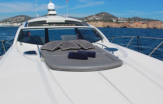 ibiza charter Sunseeker Portofino 53