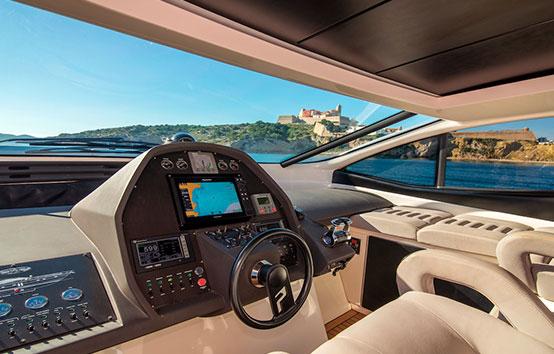 ibiza yacht charter pershing 62