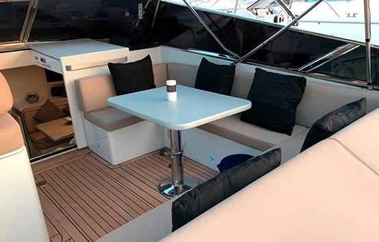 Motorboat charter ibiza Itama 40
