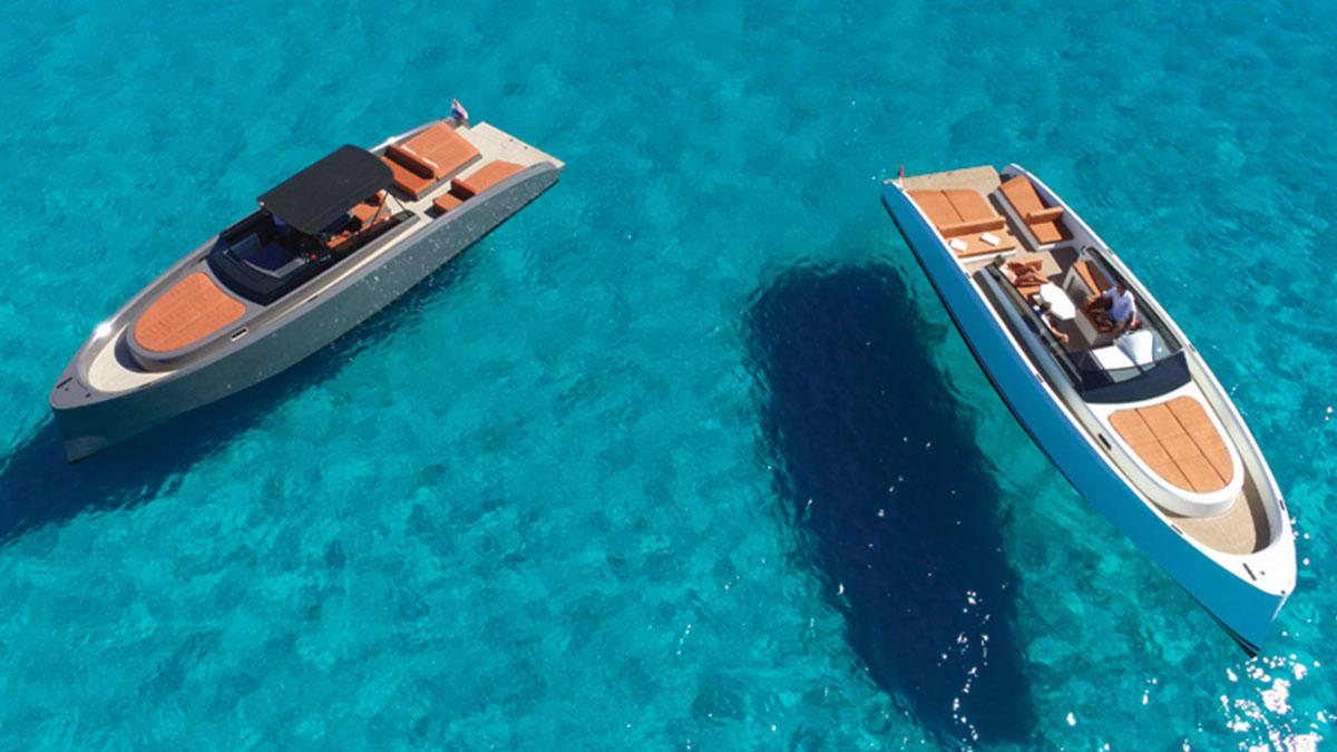 motorboat charter vanquish VQ43 ibiza