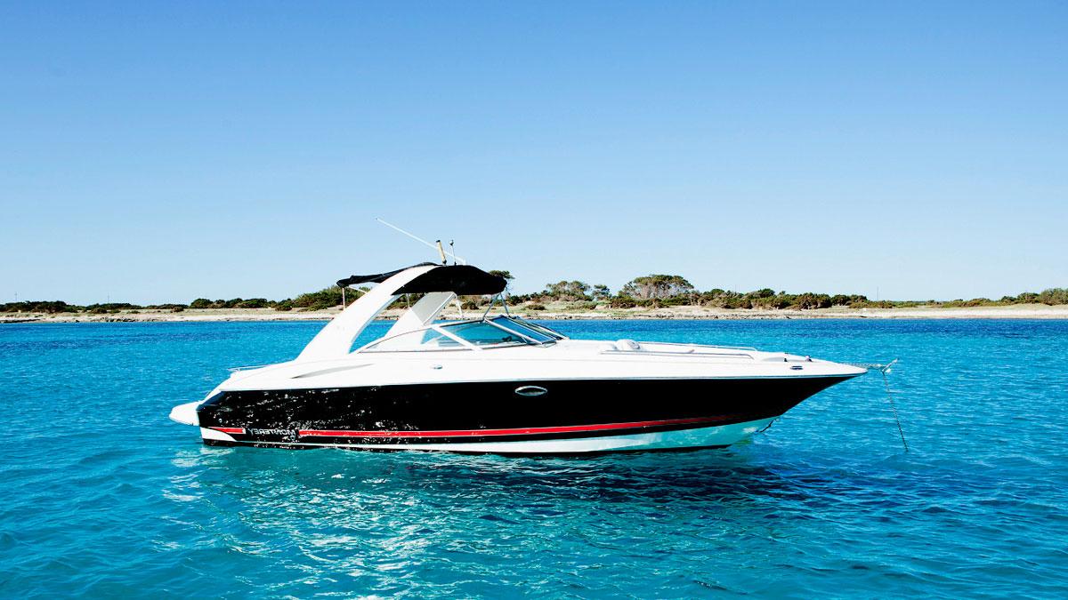 Monterey 298 SS barracuda ibiza charter