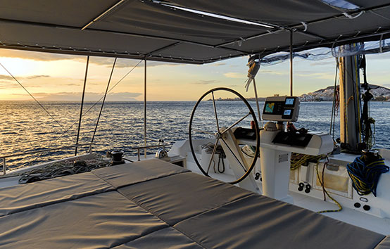 lagoon 52F catamaran barracuda ibiza charter