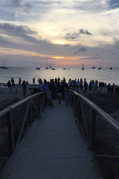 Sunset Beso Beach Formentera