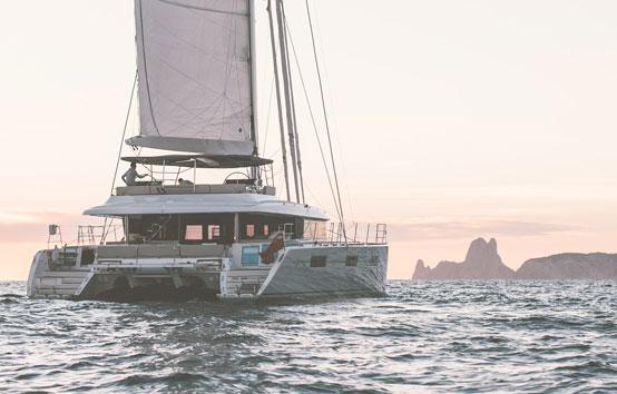 lagoon 620 catamaran barracuda ibiza charter