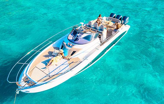 Ibiza Motor Boat Charter Sessa Key Largo 36