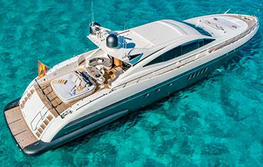 Ibiza Charter Mangusta 92