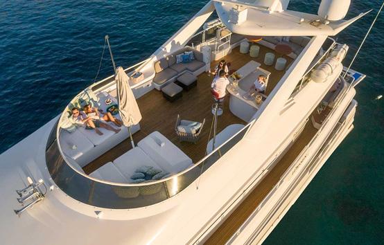 ibiza mega yacht charter Envy 41m